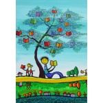Puzzle  Grafika-Kids-01770 Anne Poiré & Patrick Guallino - D'une Feuille l'Autre