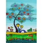 Puzzle  Grafika-Kids-01771 Pièces magnétiques - Anne Poiré & Patrick Guallino - D'une Feuille l'Autre