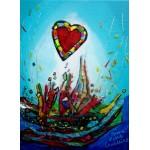 Puzzle  Grafika-Kids-01774 Anne Poiré & Patrick Guallino - Eclats d'Amour