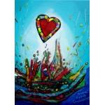 Puzzle  Grafika-Kids-01776 Pièces magnétiques - Anne Poiré & Patrick Guallino - Eclats d'Amour