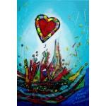 Puzzle  Grafika-Kids-01778 Pièces XXL - Anne Poiré & Patrick Guallino - Eclats d'Amour