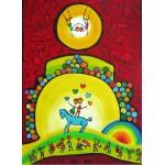 Puzzle  Grafika-Kids-01784 Anne Poiré & Patrick Guallino - Équilibre