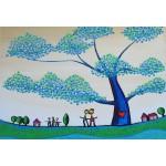 Puzzle  Grafika-Kids-01793 Pièces XXL - Anne Poiré & Patrick Guallino - Feuilles Protectrices