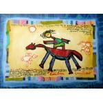 Puzzle  Grafika-Kids-01804 Anne Poiré & Patrick Guallino - Précieuse Chevauchée