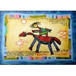 Puzzle  Grafika-Kids-01806 Pièces magnétiques - Anne Poiré & Patrick Guallino - Précieuse Chevauchée
