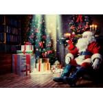 Puzzle  Grafika-Kids-01831 Pièces magnétiques - Père Noël