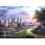 Puzzle  Grafika-Kids-01842 Pièces magnétiques - Dennis Lewan - Inverary Castle