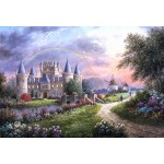 Puzzle  Grafika-Kids-01844 Pièces XXL - Dennis Lewan - Inverary Castle