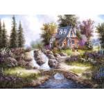 Puzzle  Grafika-Kids-01847 Pièces magnétiques - Dennis Lewan - Alpine Falls