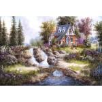 Puzzle  Grafika-Kids-01849 Pièces XXL - Dennis Lewan - Alpine Falls