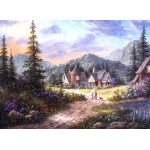 Puzzle  Grafika-Kids-01850 Dennis Lewan - Hills Of Bavaria