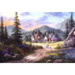 Puzzle  Grafika-Kids-01854 Pièces XXL - Dennis Lewan - Hills Of Bavaria