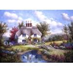 Puzzle  Grafika-Kids-01860 Dennis Lewan - Swan Creek Cottage
