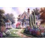 Puzzle  Grafika-Kids-01874 Pièces XXL - Dennis Lewan - Elmira's Cottage