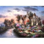 Puzzle  Grafika-Kids-01875 Dennis Lewan - Mill Creek Manor