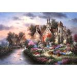 Puzzle  Grafika-Kids-01879 Pièces XXL - Dennis Lewan - Mill Creek Manor