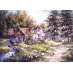 Puzzle  Grafika-Kids-01883 Dennis Lewan - Glacier Ridge Manor