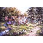 Puzzle  Grafika-Kids-01884 Pièces XXL - Dennis Lewan - Glacier Ridge Manor