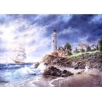 Puzzle  Grafika-Kids-01887 Pièces magnétiques - Dennis Lewan - Anchor Cove