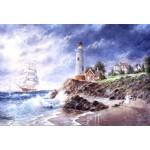 Puzzle  Grafika-Kids-01889 Pièces XXL - Dennis Lewan - Anchor Cove