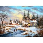 Puzzle  Grafika-Kids-01908 Dennis Lewan - A Mid-Winter's Eve