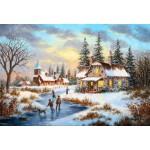 Puzzle  Grafika-Kids-01909 Pièces XXL - Dennis Lewan - A Mid-Winter's Eve