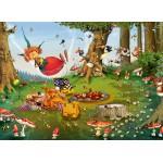 Puzzle  Grafika-Kids-01970 François Ruyer - Pic Nique de la Sorcière