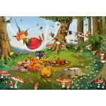 Puzzle  Grafika-Kids-01971 François Ruyer - Pic Nique de la Sorcière