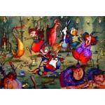Puzzle  Grafika-Kids-01972 François Ruyer - La Fête des Sorcières