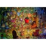Puzzle  Grafika-Kids-01973 François Ruyer - Sorcière