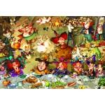 Puzzle  Grafika-Kids-01976 François Ruyer - Repas entre Sorcières
