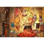 Puzzle  Grafika-Kids-01980 François Ruyer - Le Bain