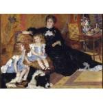 Puzzle  Grafika-Kids-02040 Auguste Renoir - Madame Charpentier et ses Enfants, 1878