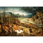 Puzzle  Grafika-Kids-02042 Brueghel Pieter - La Rentrée des Troupeaux, 1565