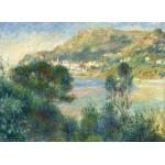 Puzzle  Grafika-Kids-02046 Auguste Renoir - Vue de Monte Carlo du Cap Martin