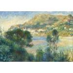 Puzzle  Grafika-Kids-02047 Auguste Renoir - Vue de Monte Carlo du Cap Martin