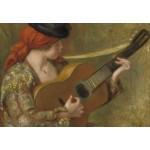 Puzzle  Grafika-Kids-02049 Auguste Renoir - Jeune Espagnole avec une Guitare
