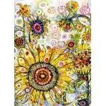 Puzzle  Grafika-Kids-02093 Sally Rich - Sunflowers