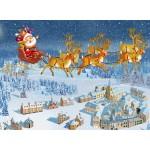 Puzzle  Grafika-Kids-02101 François Ruyer - Père Noël