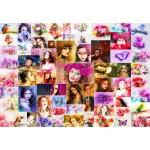Puzzle  Grafika-Kids-02108 Collage - Femmes