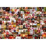 Puzzle  Grafika-Kids-02109 Collage - Noël