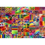 Puzzle  Grafika-Kids-02111 Collage - Couleurs