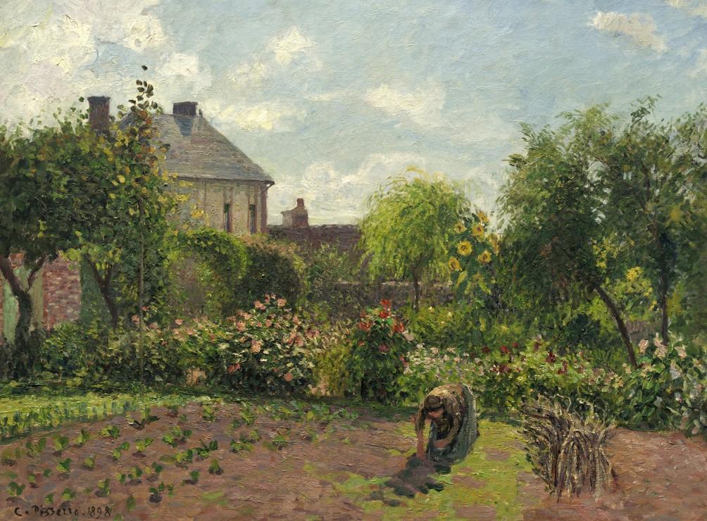 Puzzle camille pissarro le jardin de l 39 artiste eragny for Jardin 2000