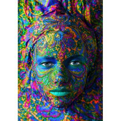 Puzzle Grafika-00002 Face Art : Portrait de Femme