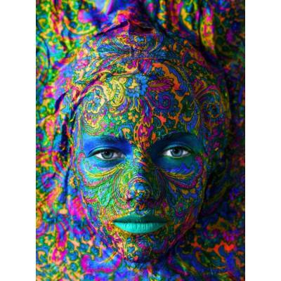 Puzzle Grafika-00003 Face Art : Portrait de Femme