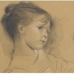 Puzzle  Grafika-00004 Gustav Klimt : Annerl - 1885