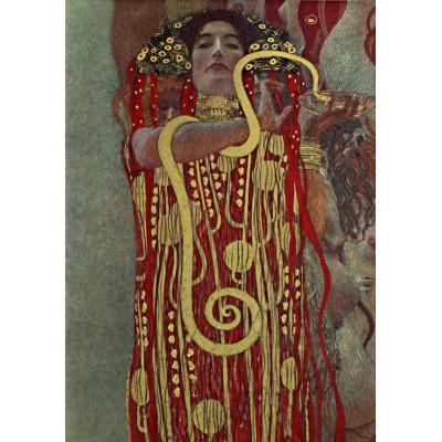 Puzzle Grafika-00010 Gustav Klimt : Hygieia, 1900