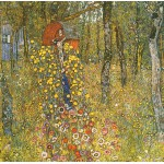 Puzzle  Grafika-00012 Gustav Klimt : Jardin au Crucifix, 1911-1912