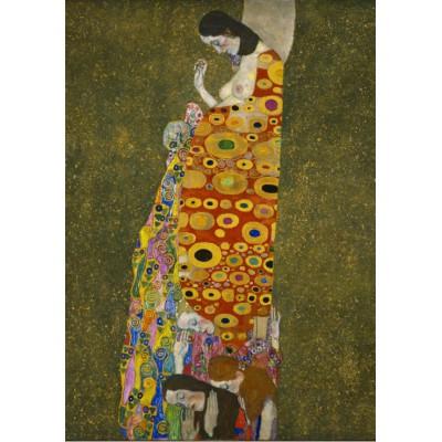 Puzzle Grafika-00015 Gustav Klimt : L'Espoir II, 1907-1908