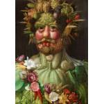 Puzzle  Grafika-00019 Giuseppe Arcimboldo : Rudolf II of Habsburg as Vertumnus